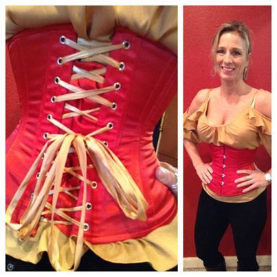 Orchard Corset, Day 4 of...