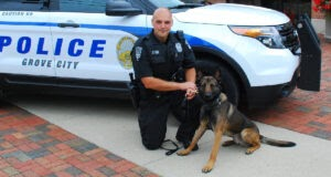 Ohio Town Dedicates Police Procession To Fallen K-9 Officer