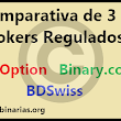 Comparativa 3 Brokers- IQoption, Binary.com y BDSwiss