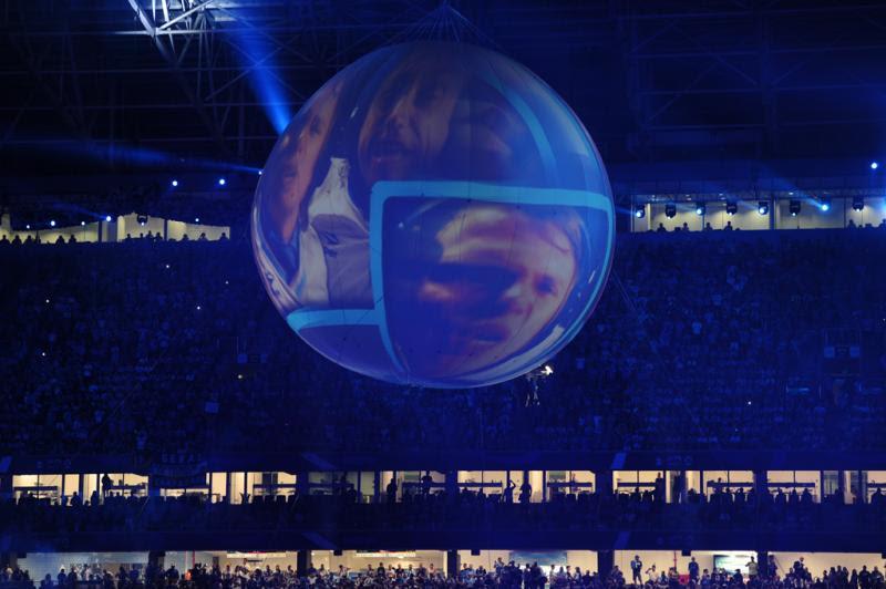 Show do Blue Man Group movimentou a festa:imagem 10