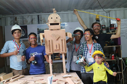 5 Craziest Projects at the Nepal, Kathmandu Mini Maker Faire | Make: