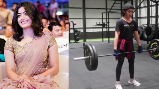 Watch Rashmika Mandanna Gym Workout Video – Celebrity Workout Video