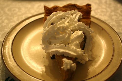 pumpkin pie, yum