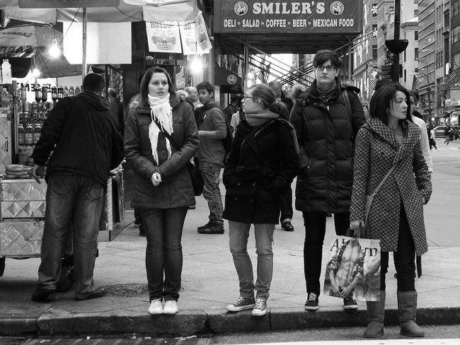 Chilly corner, NYC