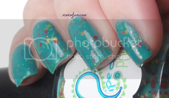 xoxoJen Pipe Dream Polish Pink Elephants and Lemonade