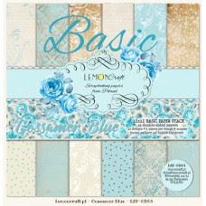 Lemoncraft - Gossamer Blue - BASIC 12x12 Paper Pad
