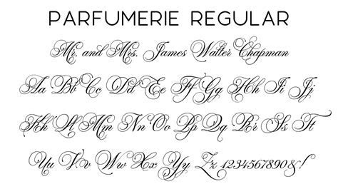 Script Fonts   Wiregrass Weddings