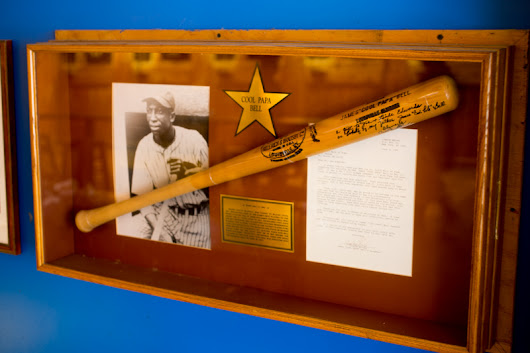 "Our James ""Cool Papa"" Bell Memorabilia - Blueberry Hill"
