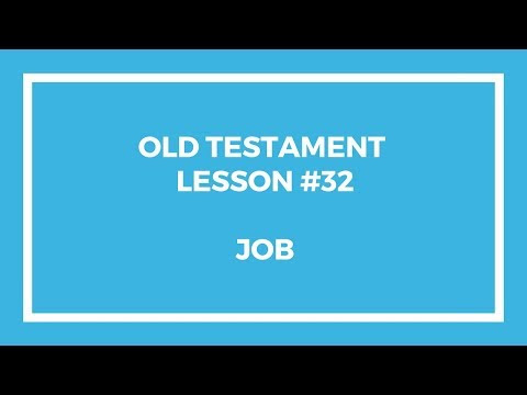 Old Testament Lesson 32 – Gospel Doctrine