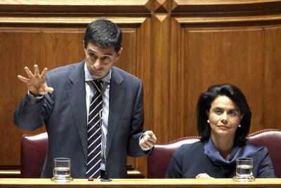 O aumento das garantias do Estado à banca e a alienação das golden shares foram os temas do debate parlamentar.