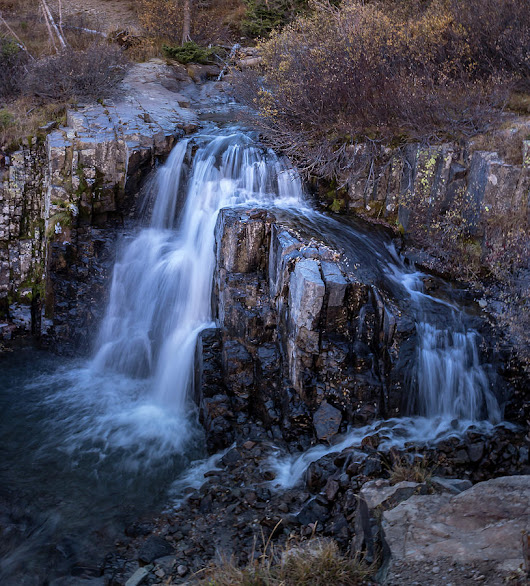 Waterfall by James Pell