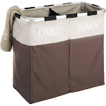 WHITMOR 6205-2466-JAVA Easy Care Double Hamper