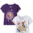 Chhota Bheem Girls' T-Shirt (Pack of 2): Amazon.in: Clothing & Accessories