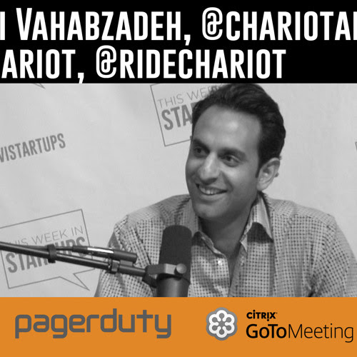Ali Vahabzadeh, founder Chariot, hopes to change mass transit w/crowdsourced shuttle routes by TWiStartups