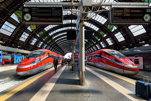 Italy Train Guide — How To Tavel Italy By Train - Guide To Backpacking Through Europe | The Savvy Backpacker