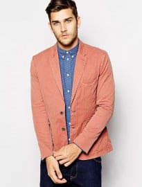 Paul Smith Jeans Blazer In Washed Cotton