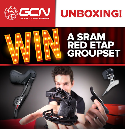 WIN a SRAM Red eTap Groupset with GCN!