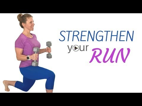 strength training for runners  dumbbell workout  leg