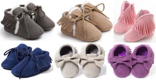 Free Baby Moccasins! {2 Free Pairs for Cyber Monday} - Never Ending Journeys