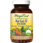 MegaFood Men Over 40 One Daily Multivitamin - Healthy Aging