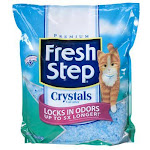 Fresh Step 03073 Premium Crystals Cat Litter, 4 Lb