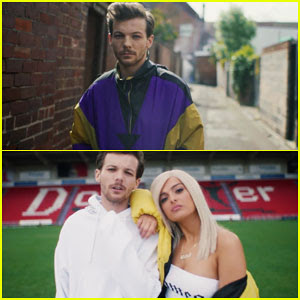 Louis Tomlinson & Bebe Rexha Team Up in 'Back To You' Music Video - Watch Now!