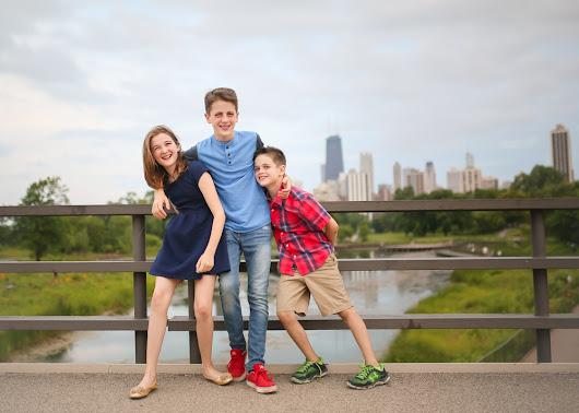 Fun family of five | chicago lifestyle portrait photography