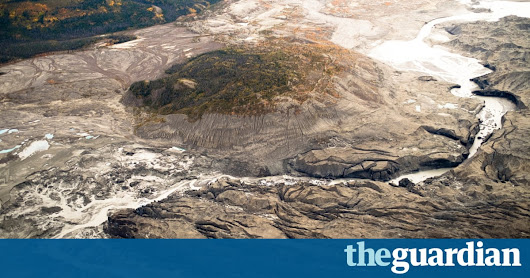 Receding glacier causes immense Canadian river to vanish in four days | Science | The Guardian