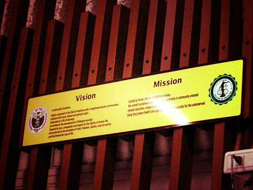 UP College of Medicine Mission and Vision