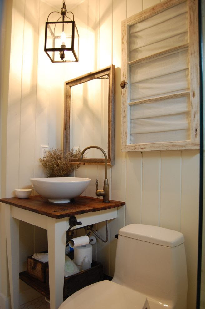"love this country bathroom ""vanity"""