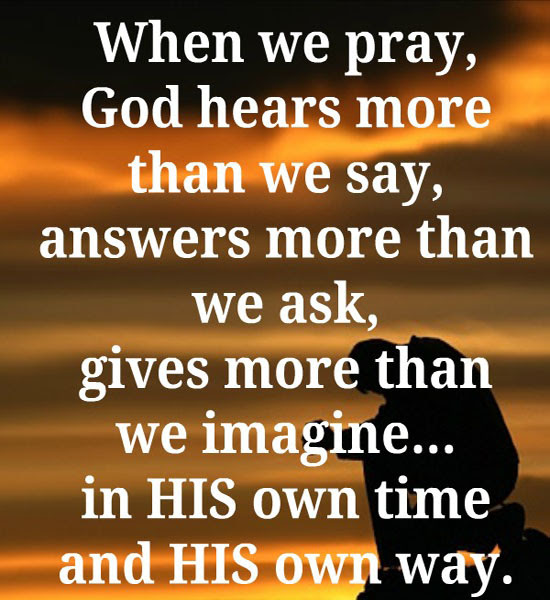 Praying Quotes
