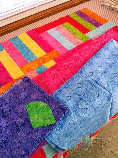 IMG_4057 Fruit Stripe Gum quilt