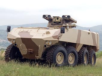 Бронемашина RG41. Фото с сайта military-informant.com