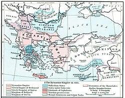 Peninsula Balcanică în sec. XIII