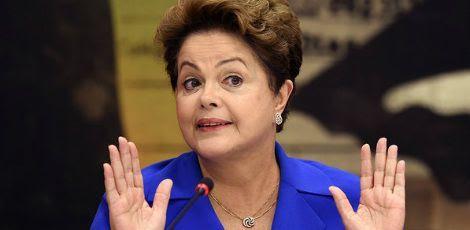 Dilma disse que concorda com tudo que o ex-presidente falou / Foto: AFP