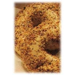 Burry Foodservice Thaw and Sell Everything Premium Sliced Bagel, 4 Ounce - 72 per case.