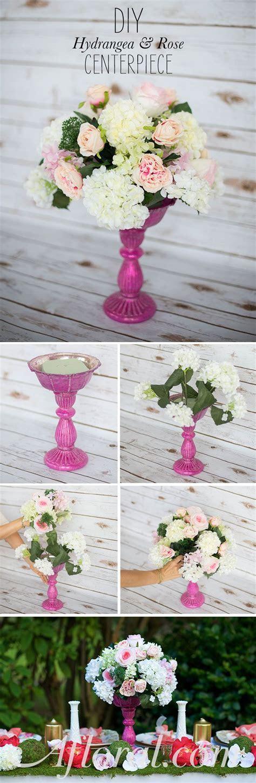 Best 25  DIY silk flower arrangements ideas on Pinterest