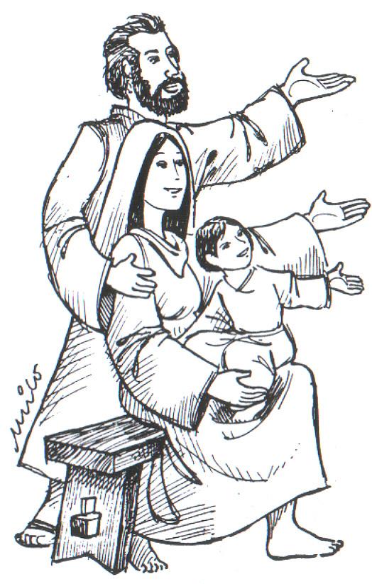 Solemnidad De La Sagrada Familia Jesús María Y José Recursos
