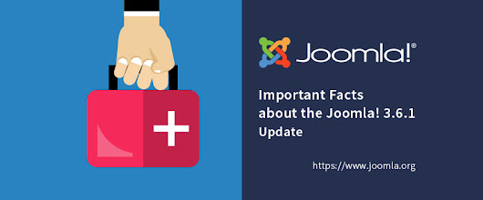 The Joomla! 3.6.1 Update