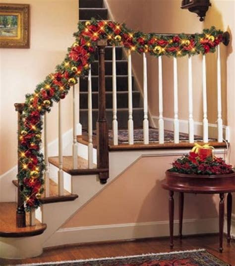 Top 70 Best Stair Railing Ideas: Best 5 Stairs Railing Ideas Christmas