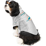 The Miami Dolphins | Pet Stretch Jersey | Size S | Blue | Little Earth