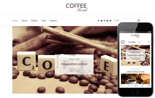 Coffee Break a Blogging Category Flat Bootstrap Responsive Web Template by w3layouts