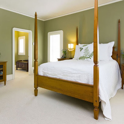 Bedroom green walls Design Ideas, Pictures, Remodel and Decor