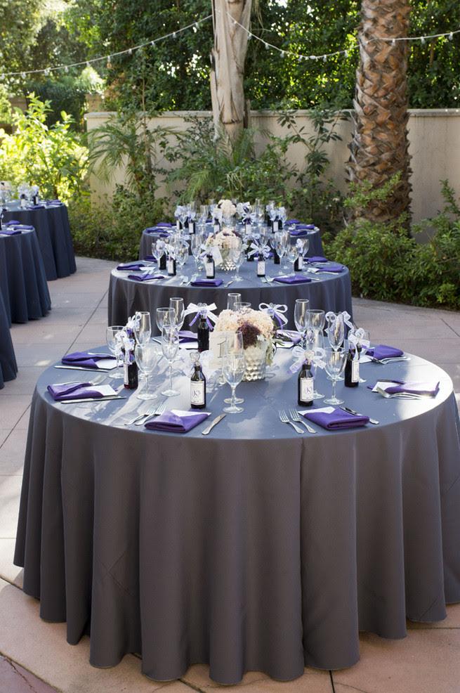 Purple And Gray Wedding Theme Nemetasaufgegabeltinfo
