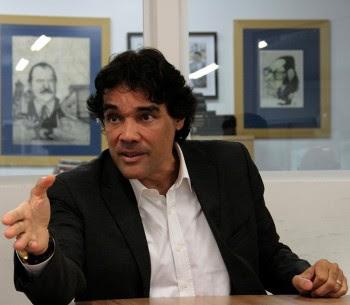 Edinho Lobão durante entrevista ao Jornal O Estado