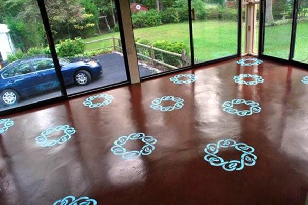 Creative Wood Floor Paint Decoration Art Works (21)
