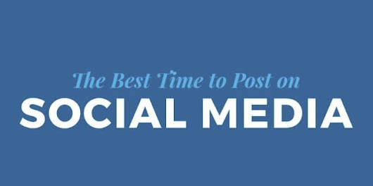 The Best Times and Days to Post on Facebook, Instagram and Twitter [Infographic]