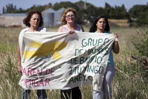 "The Mothers of Ituzaingó, cofounded by Sofía Gatica,launched a ""Stop Spraying"" campaign to warn the public about the dangers of pesticides."