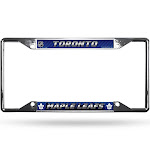 NHL Toronto Maple Leafs View Chrome License Plate Frame