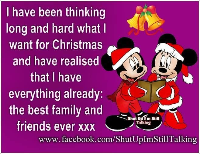 I Have The Best Family And Friends Disney Christmas Quote Pictures Photos And Images For Facebook Tumblr Pinterest And Twitter
